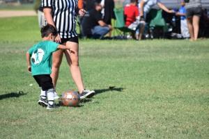 A kicking